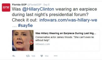 Hillary Earpiece FL GOP.JPG